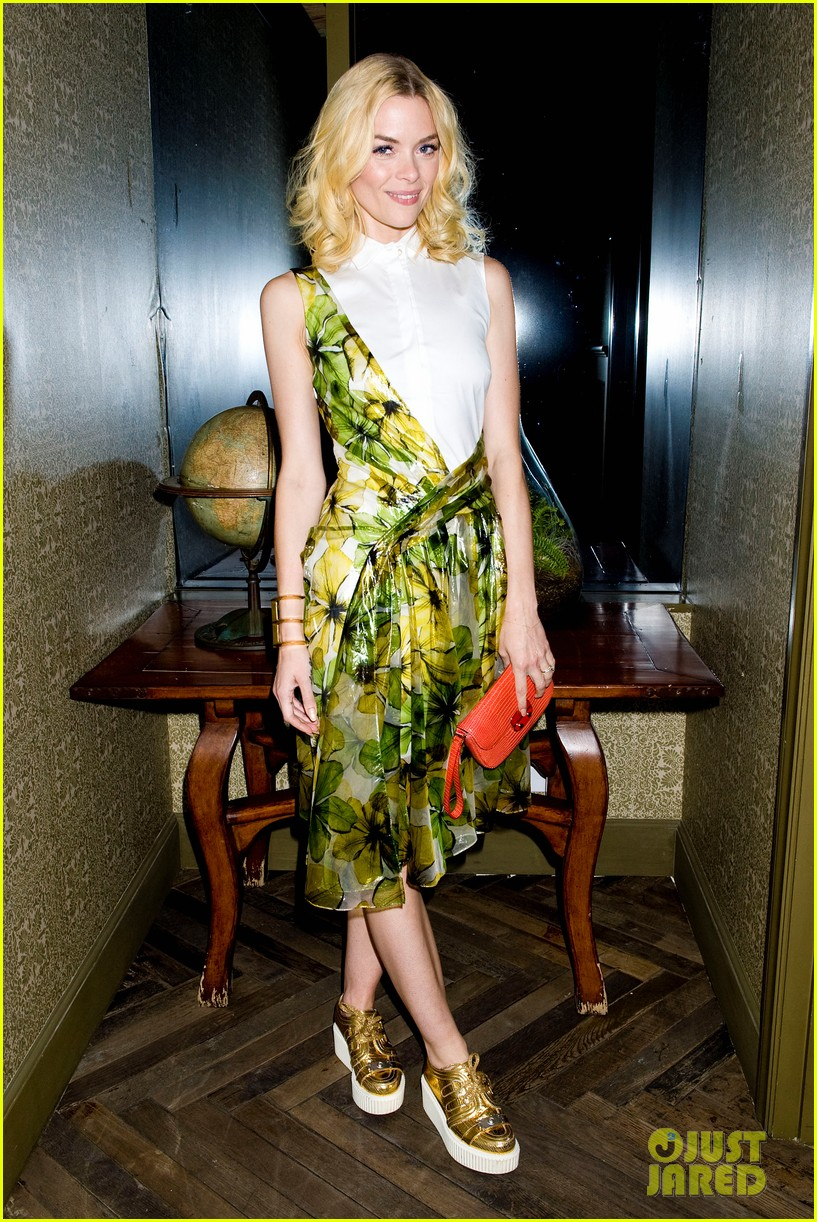 jaime king chateau marmont with kyle newman 10