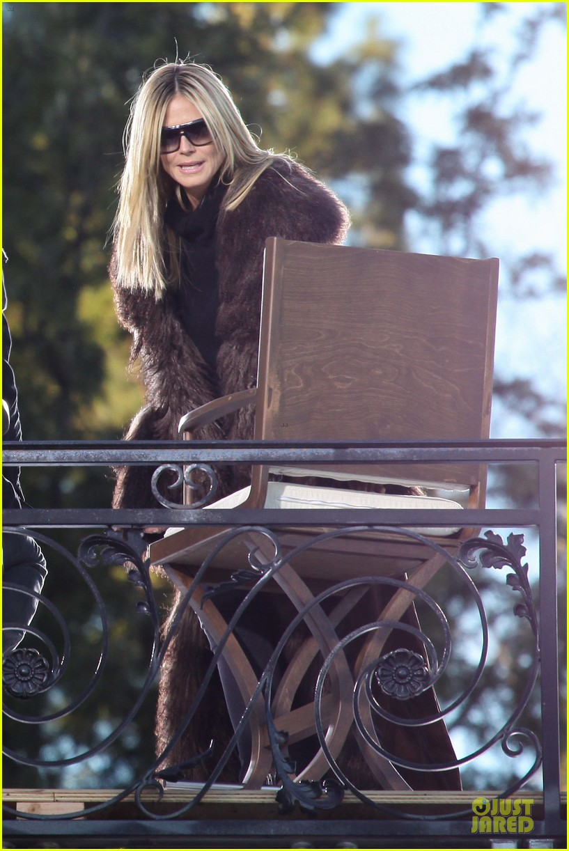 heidi klum germany next top model filming 23