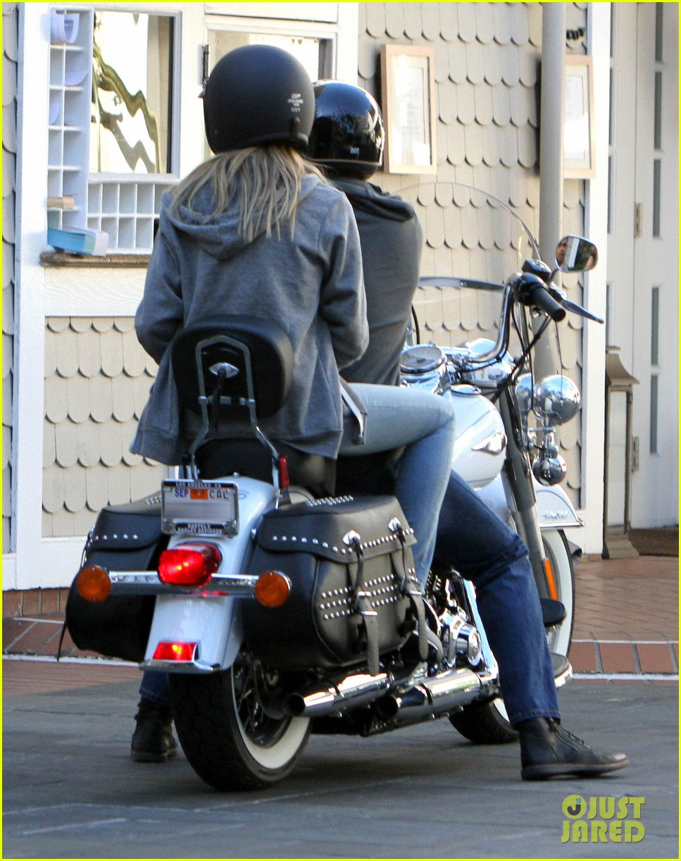 heidi klum martin kirsten motorcycle couple 062795647