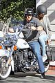 heidi klum martin kirsten motorcycle couple 16