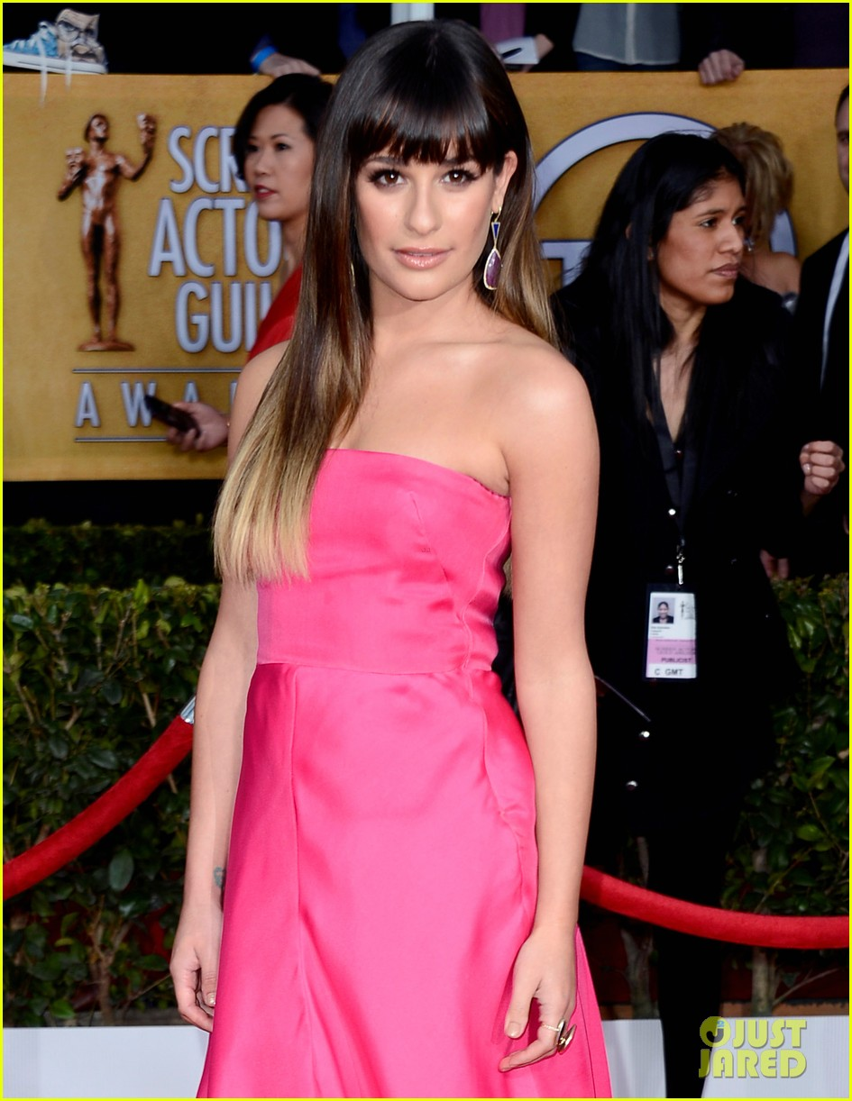 lea michele sag awards 2013 05