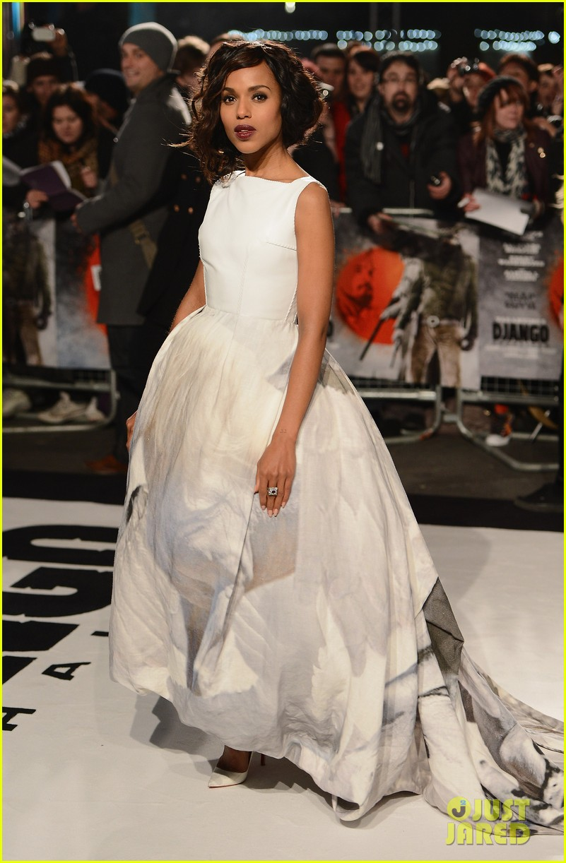 kerry washington jamie foxx django unchained uk premiere 01