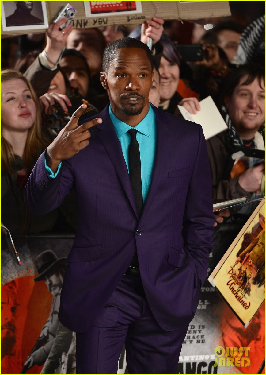 kerry washington jamie foxx django unchained uk premiere 23