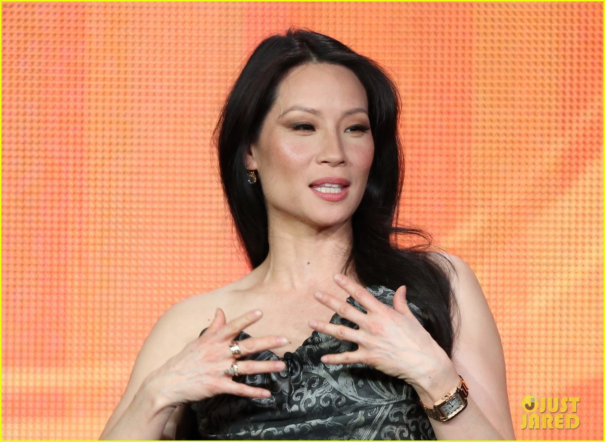 lucy liu theo james cbs tca panel 14