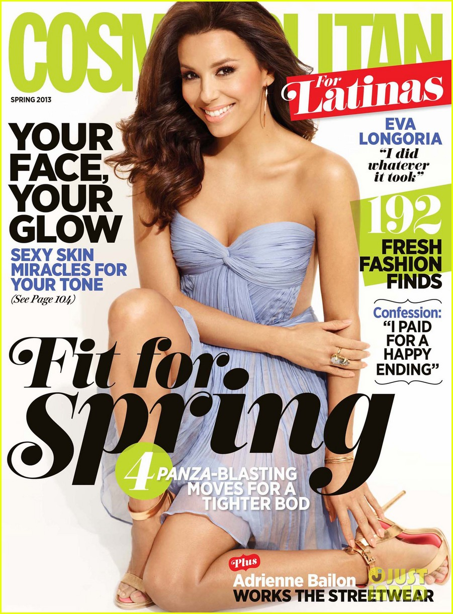 eva longoria covers cospomolitan for latinas spring 2013 01