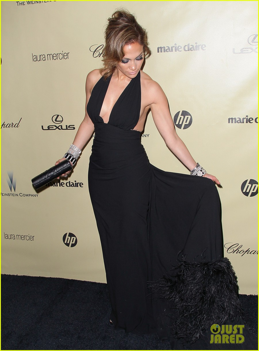 jennifer lopez casper smart golden globes parties 2013 03