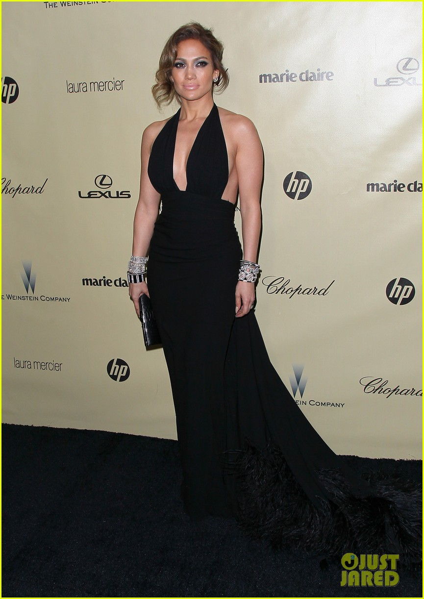 jennifer lopez casper smart golden globes parties 2013 13