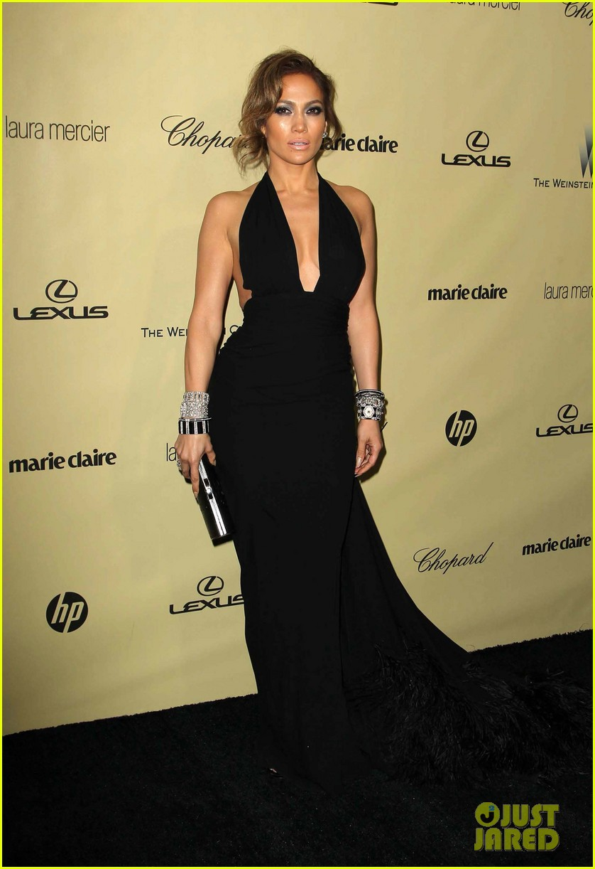 jennifer lopez casper smart golden globes parties 2013 17