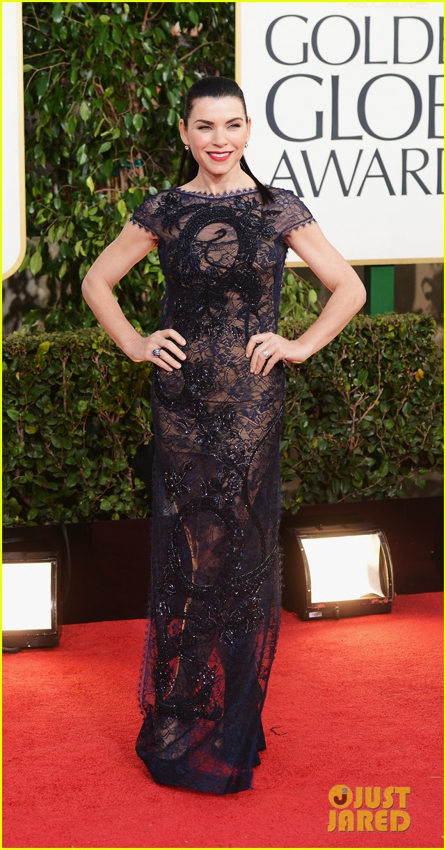 julianna margulies golden globes 2013 red carpet 09