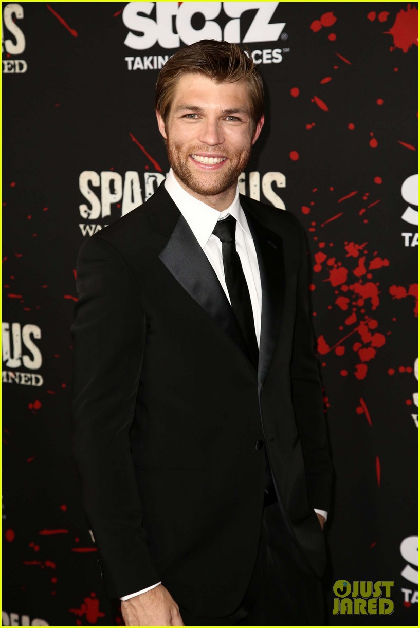 liam mcintyre spartacus war of the damned premiere 02