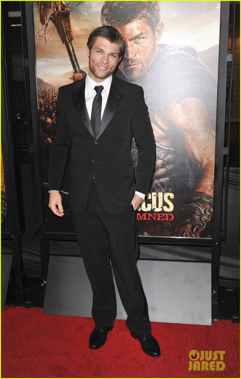 liam mcintyre spartacus war of the damned premiere 222797246