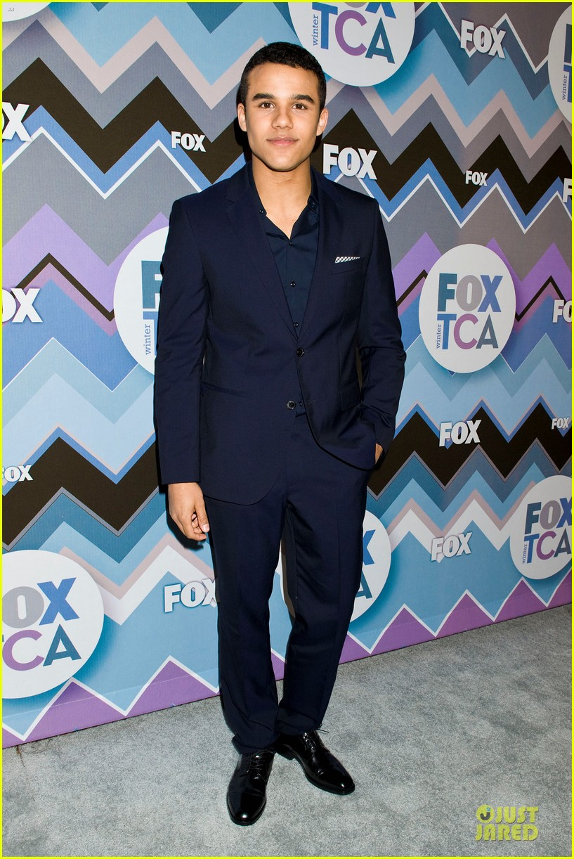 lea michele tca fox all star party with glee cast 02