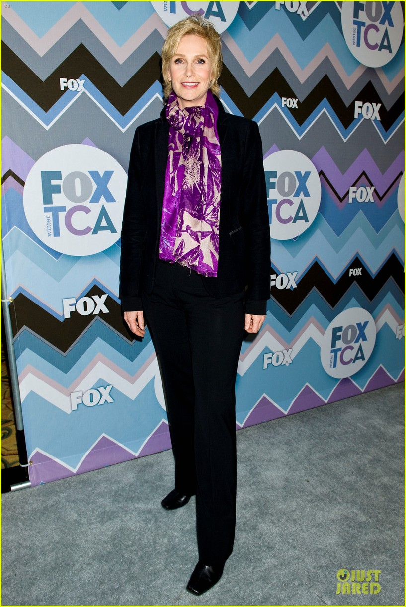 lea michele tca fox all star party with glee cast 10
