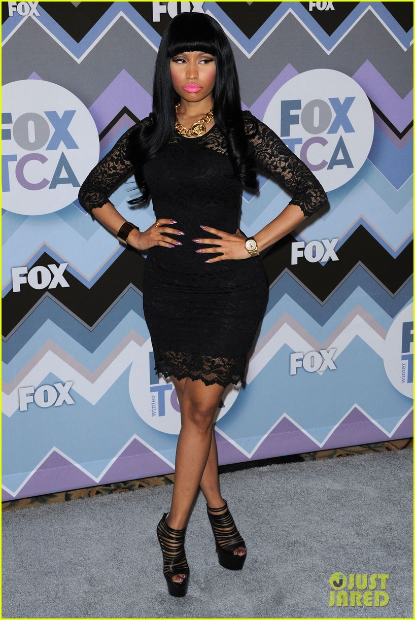 nicki minaj fox tca all star party 03