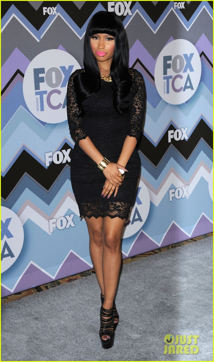 nicki minaj fox tca all star party 09