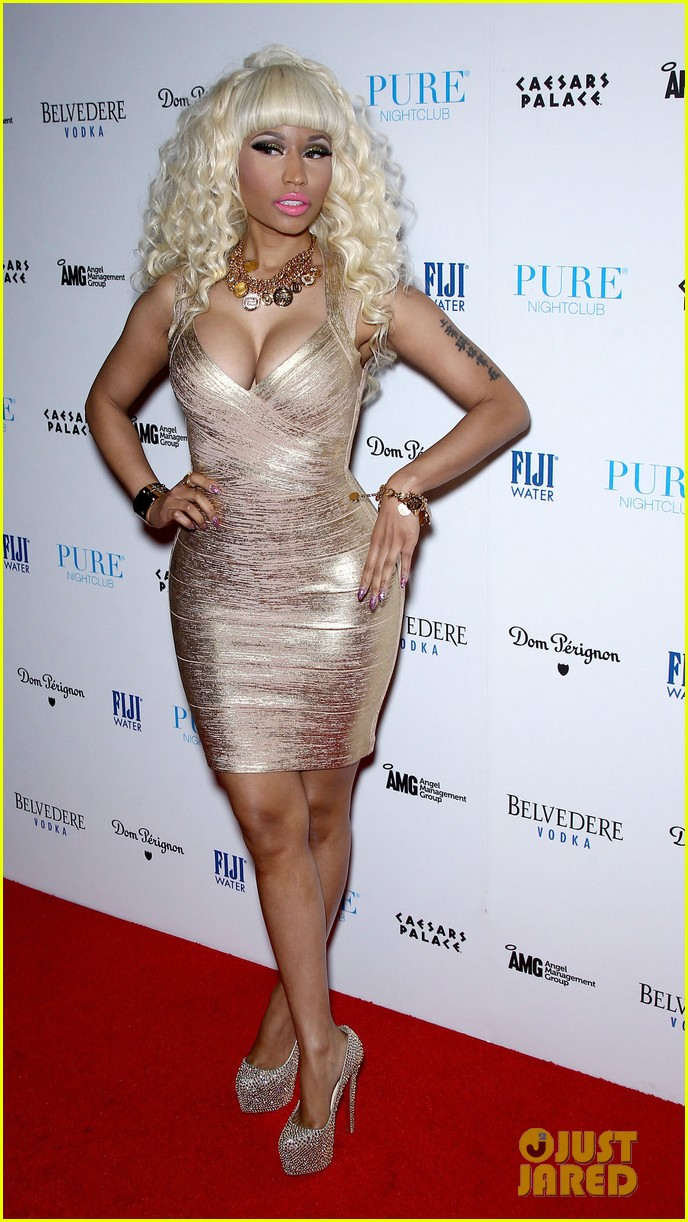 nicki minaj new years eve affair in las vegas 09