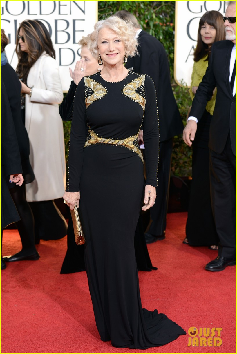 helen mirren glenn close golden globes 2013 red carpet 01