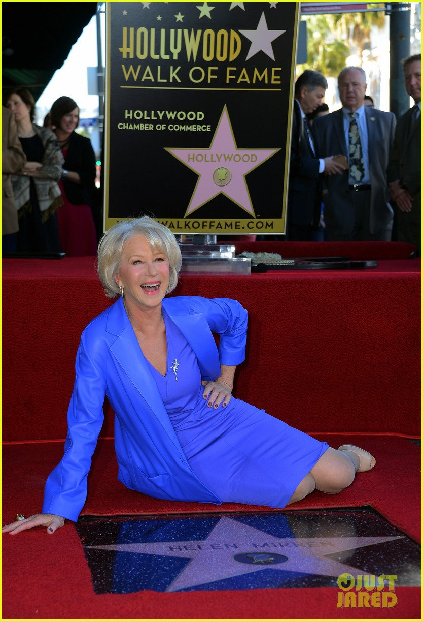 helen mirren receives star on hollywood walk of fame 12