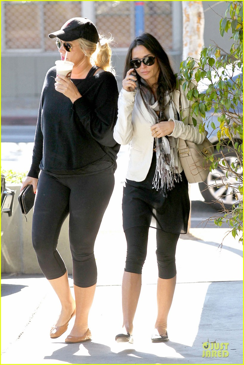 demi moore sherman oaks workout woman 06