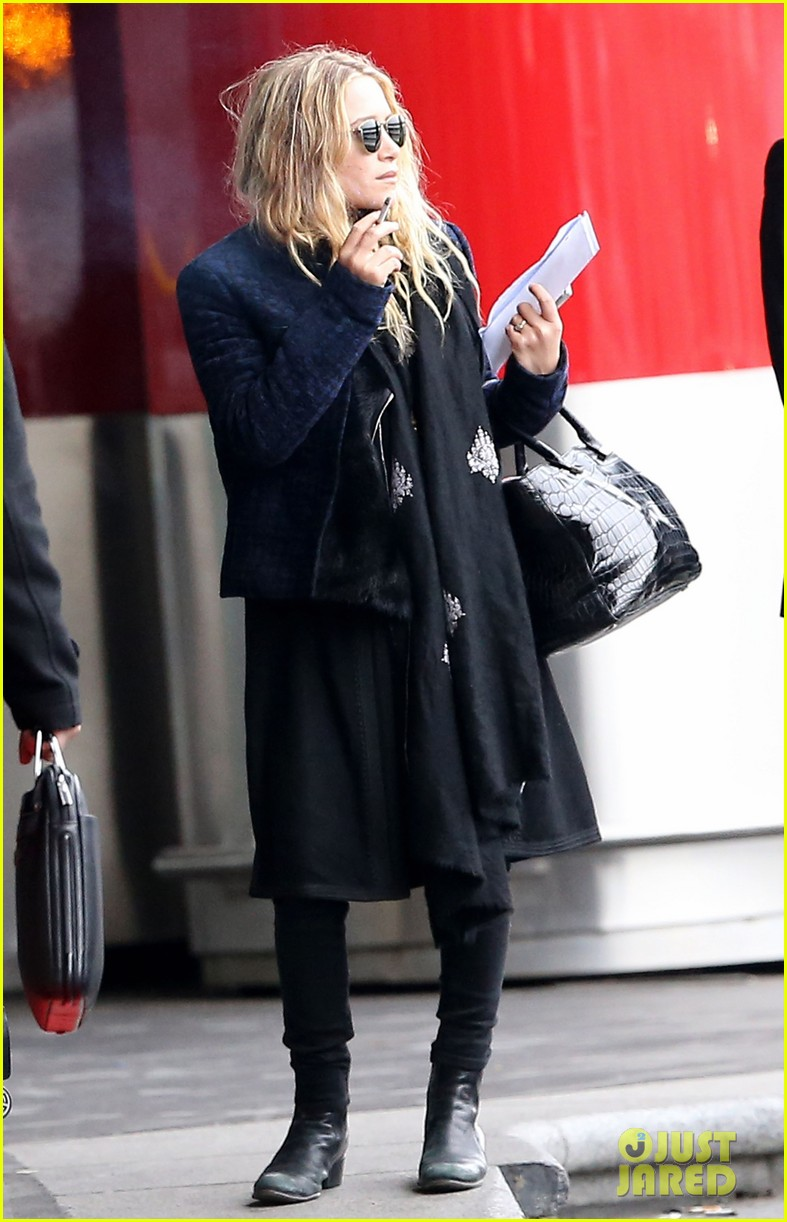 mary kate olsen olivier sarkozy charles de gaulle couple 122786892