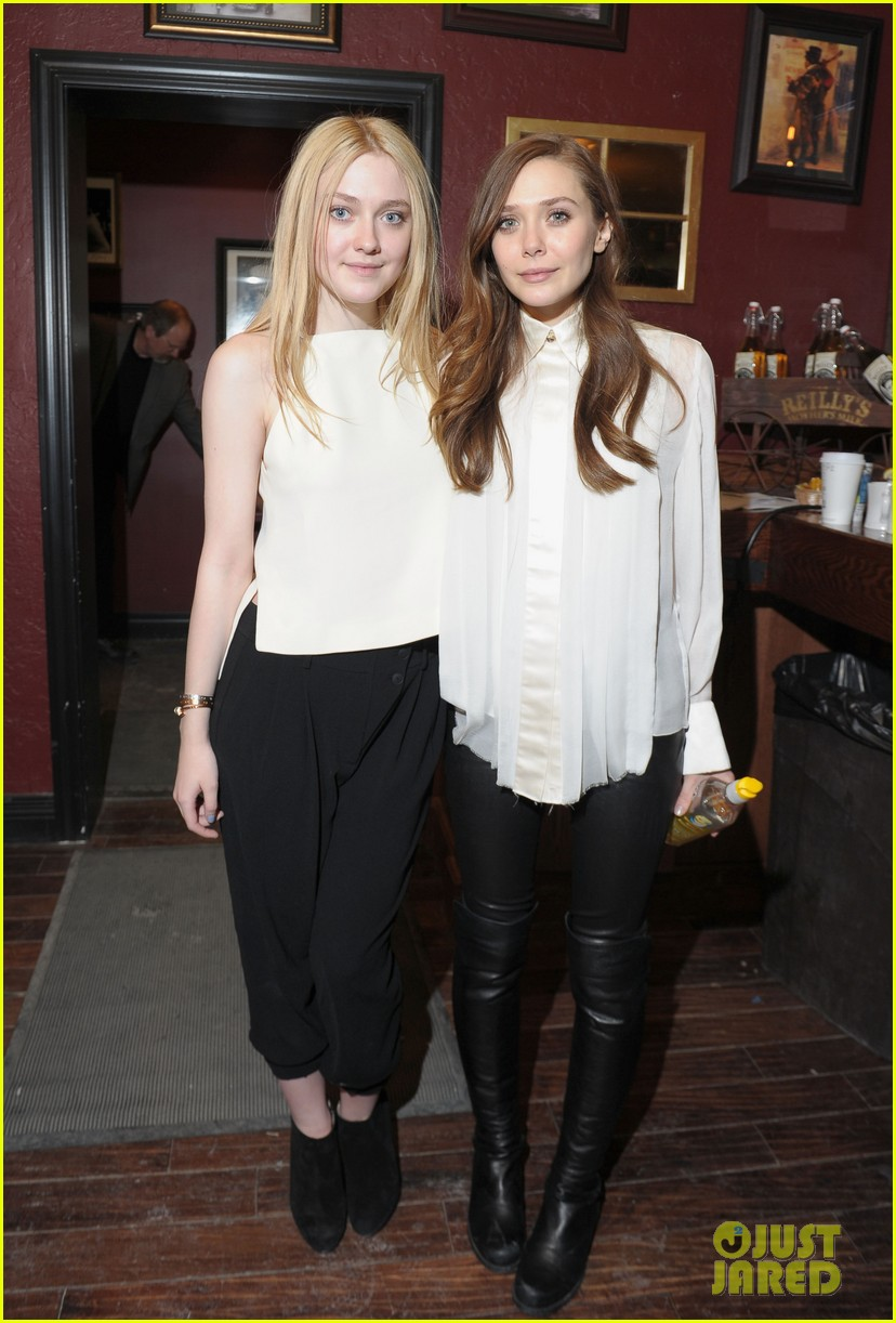 elizabeth olsen dakota fanning sundance portraits 22