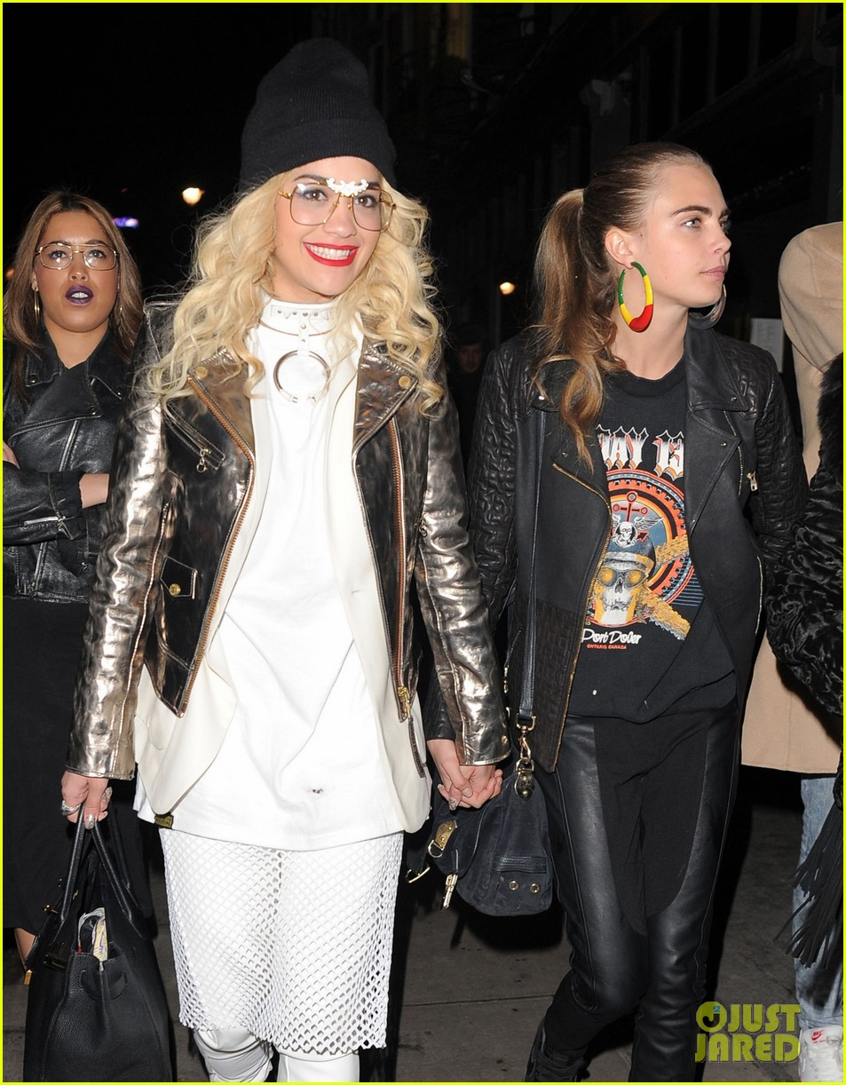 rita ora cara delevingne girls night out 03