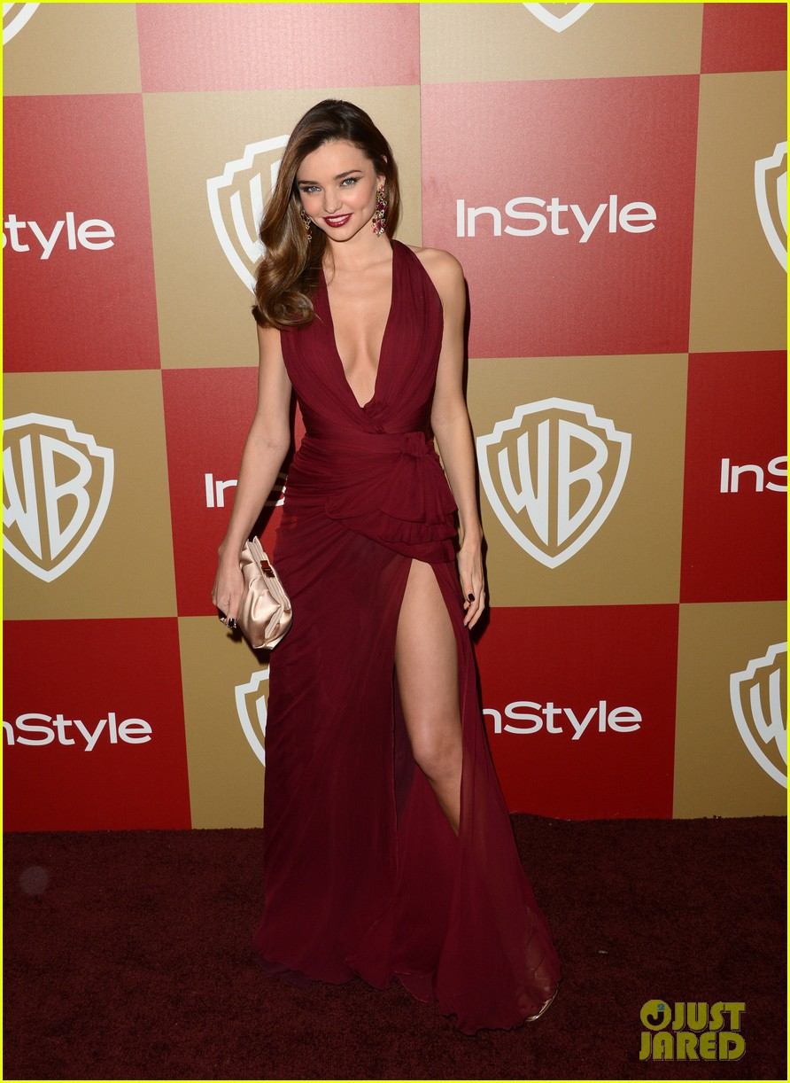 miranda kerr orlando bloom golden globes 2013 after party 01