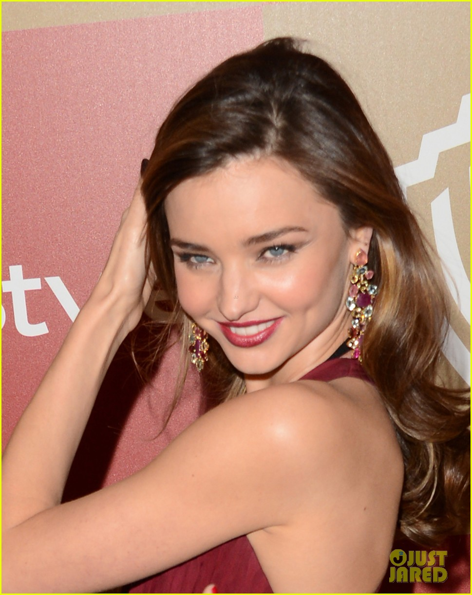 miranda kerr orlando bloom golden globes 2013 after party 062791300