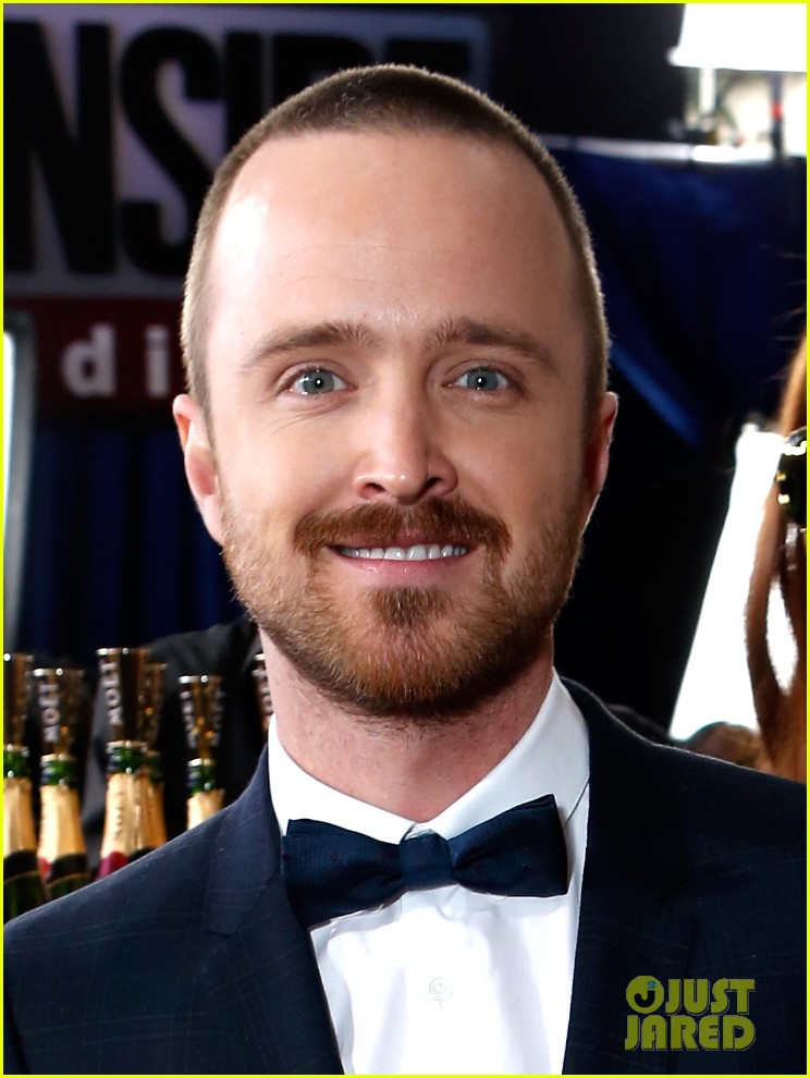 aaron paul bryan cranston golden globes 2013 red carpet 04