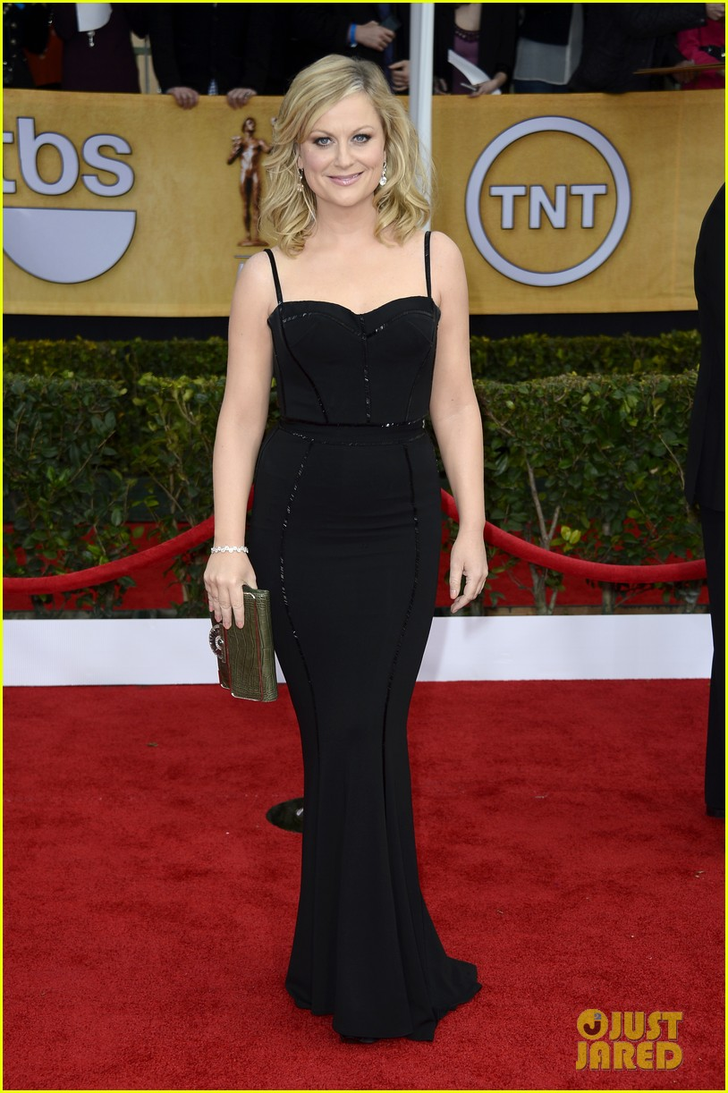 amy poehler tina fey sag awards 2013 red carpet 01