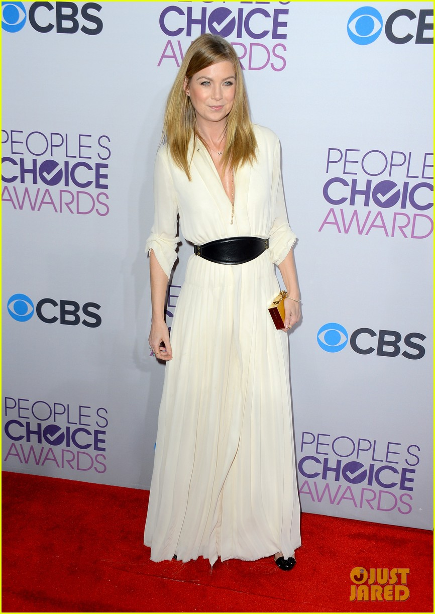 ellen pompeo jesse williams peoples choice awards 2013 122787880