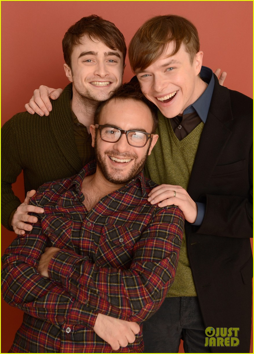 daniel radcliffe dane dehaan kill your darlings sundance portrait session 01
