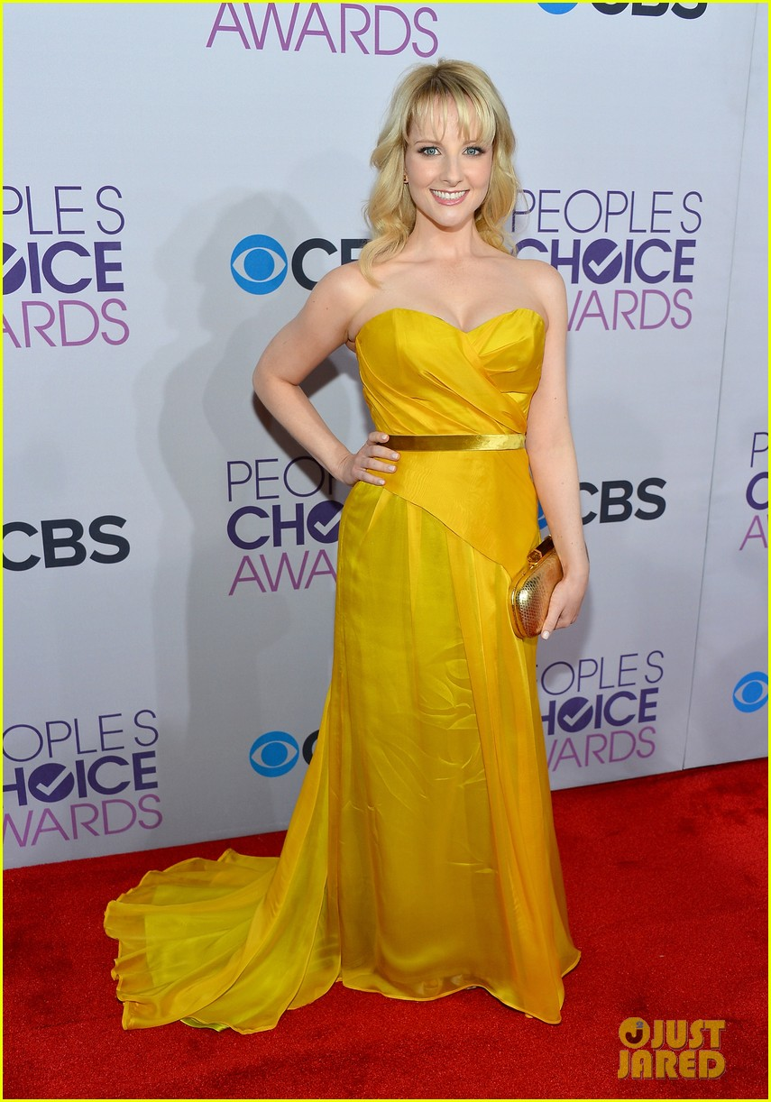 melissa rauch casey wilson peoples choice awards 2013 062787755