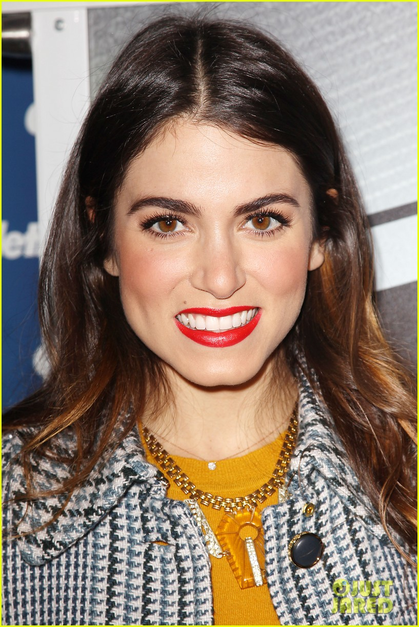 nikki reed kiss tell event for gillette 02