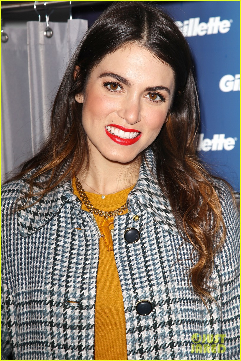 nikki reed kiss tell event for gillette 04