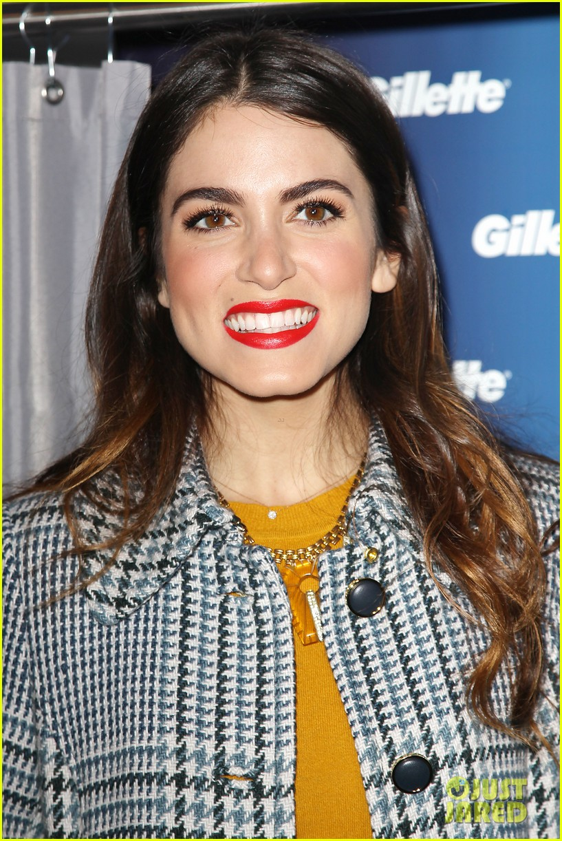 nikki reed kiss tell event for gillette 112793227