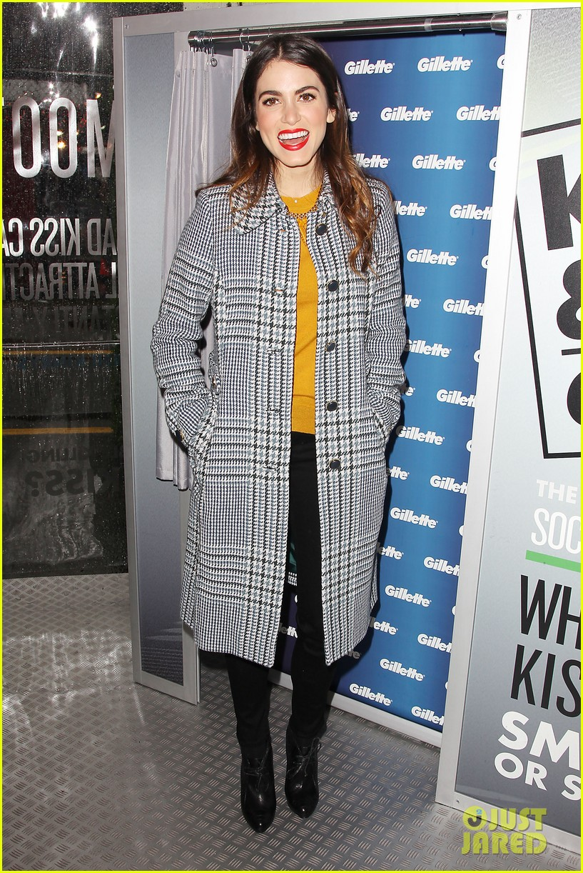 nikki reed kiss tell event for gillette 17