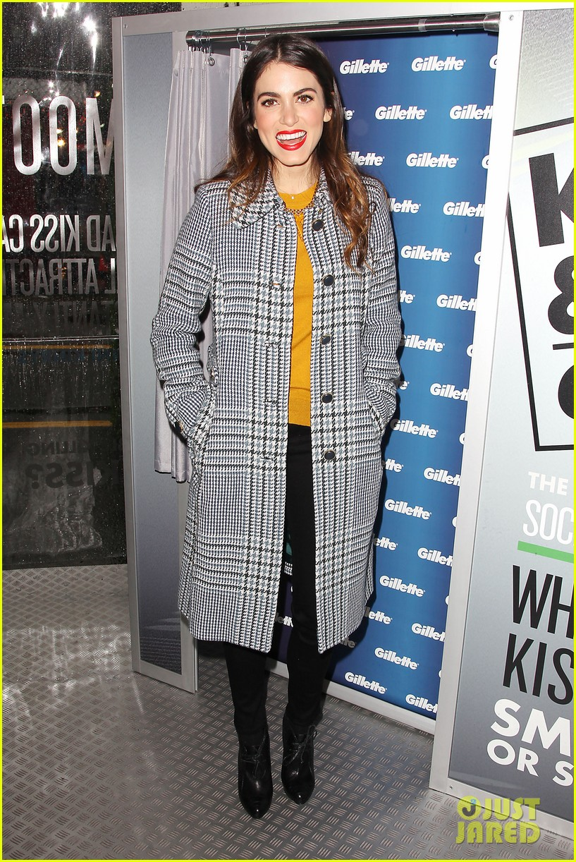 nikki reed kiss tell event for gillette 19