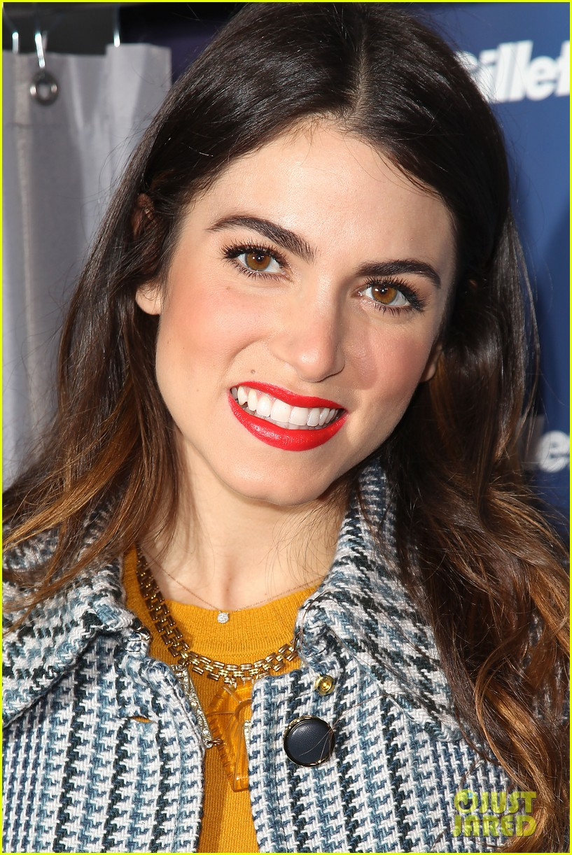 nikki reed kiss tell event for gillette 252793241