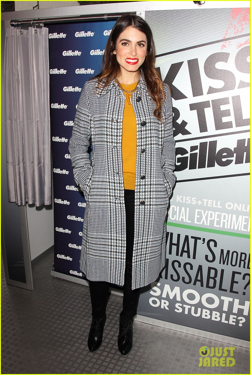 nikki reed kiss tell event for gillette 31