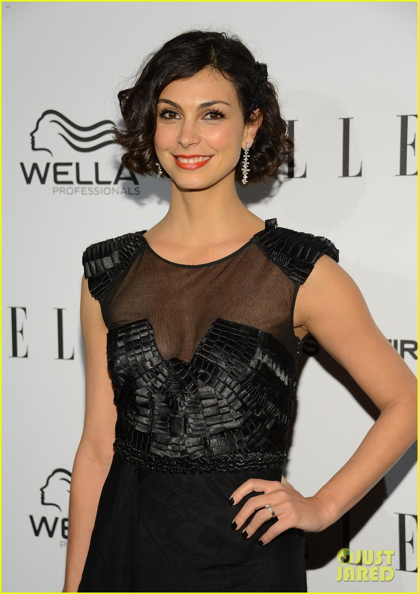 nicole richie morena baccarin elles women in tv party 25