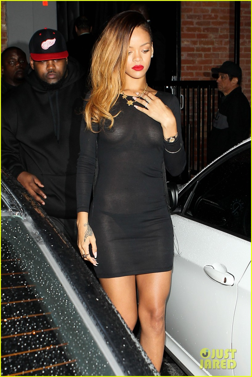Rihanna: Sheer Eden Exit!: Photo 2798414 | Rihanna, Sheer Pictures ...