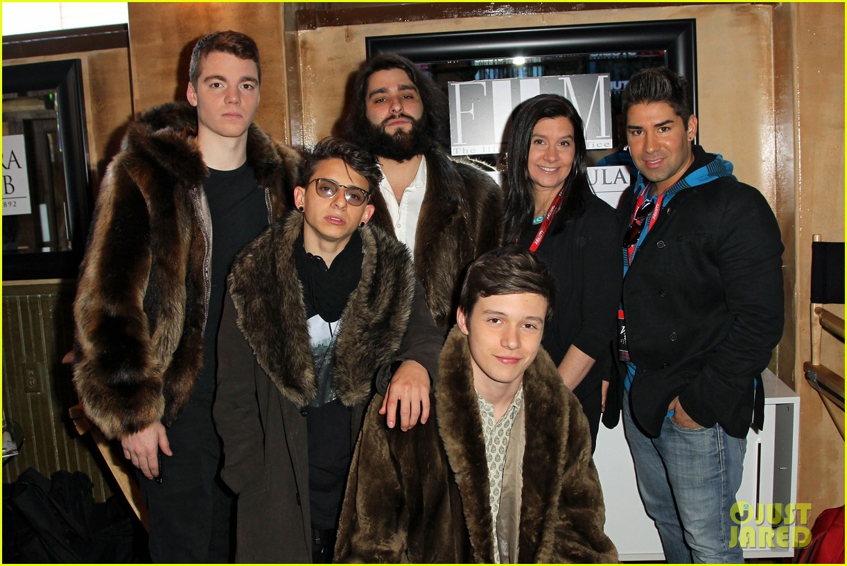 nick robinson moises arias variety studio at sundance 12