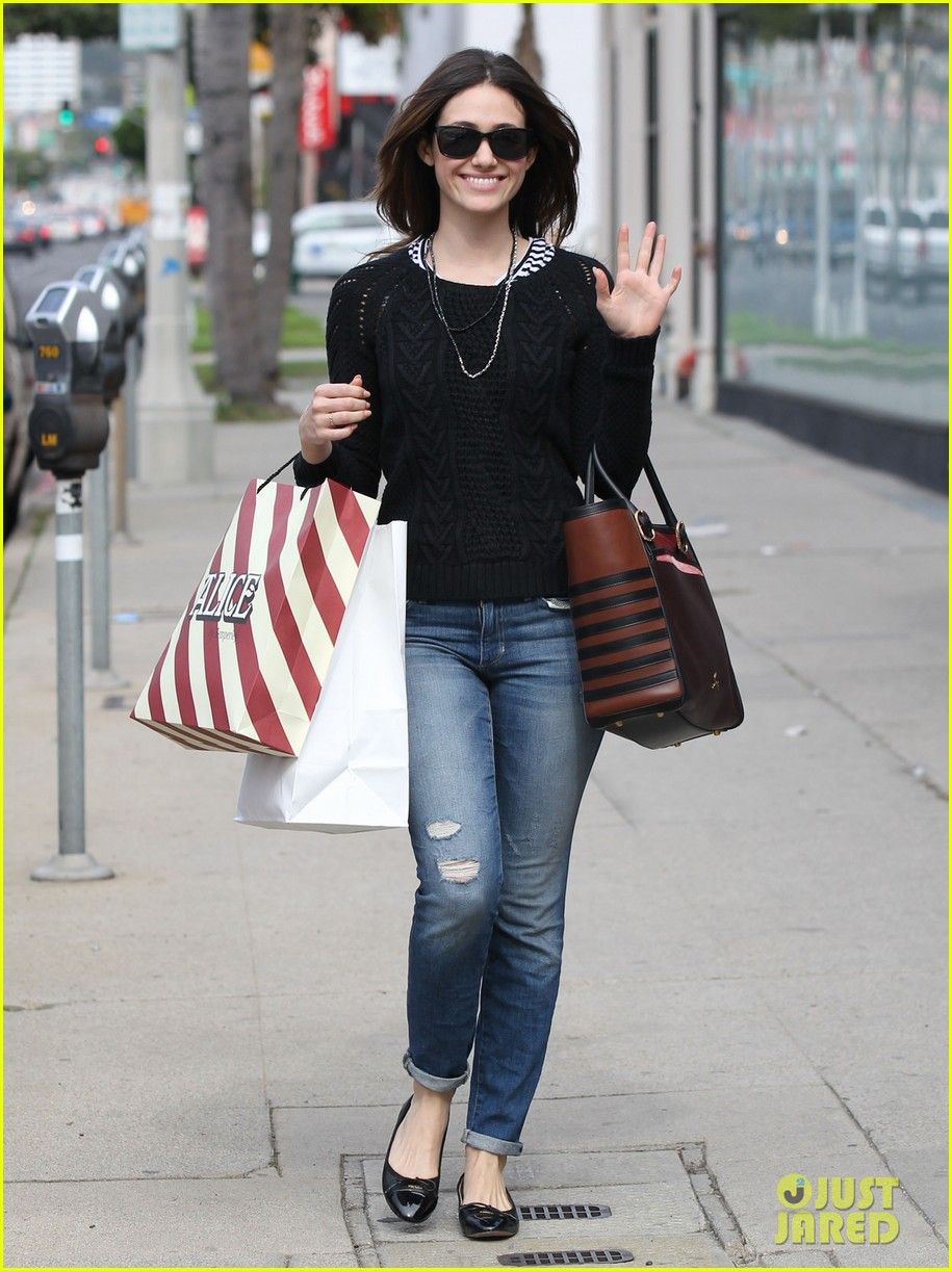 emmy rossum sentimental journey in stores next week 122798091