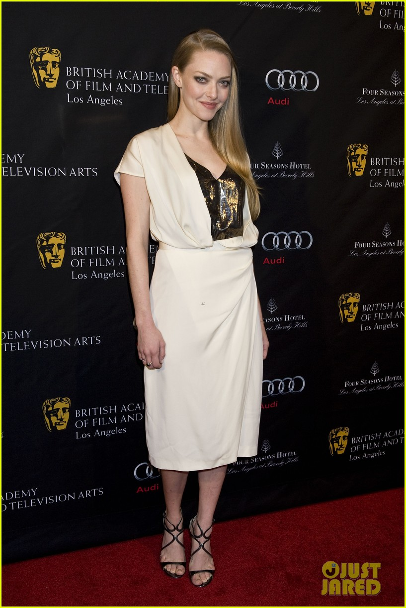 amanda seyfried hugh jackman bafta party 052789934