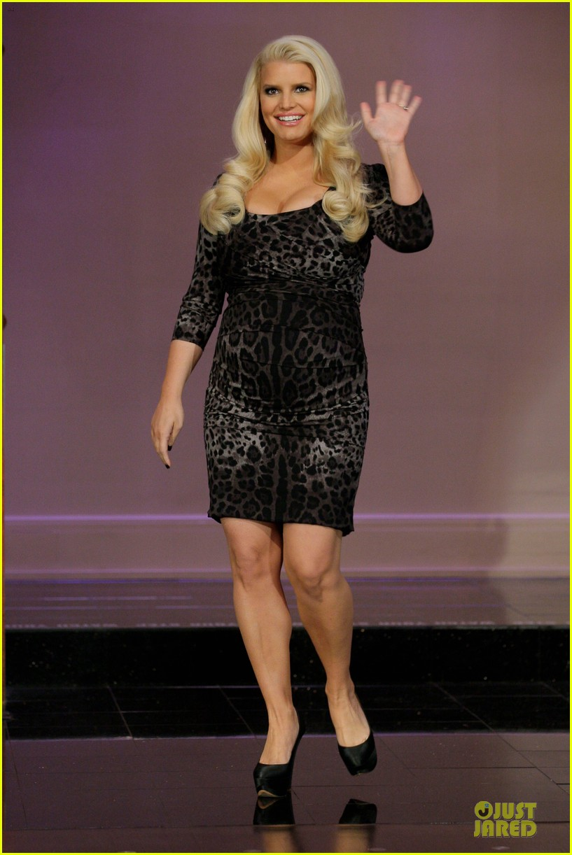 jessica simpson tonight show with jay leno appearance 012793016
