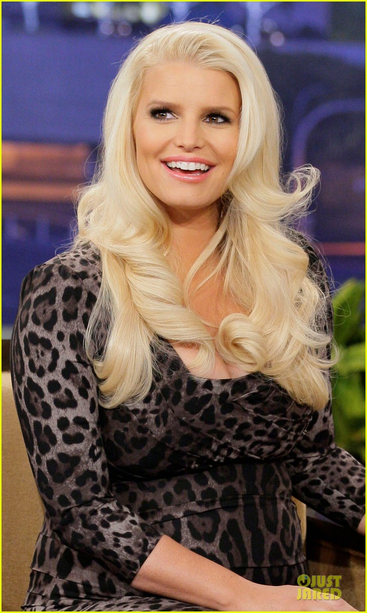 jessica simpson tonight show with jay leno appearance 04