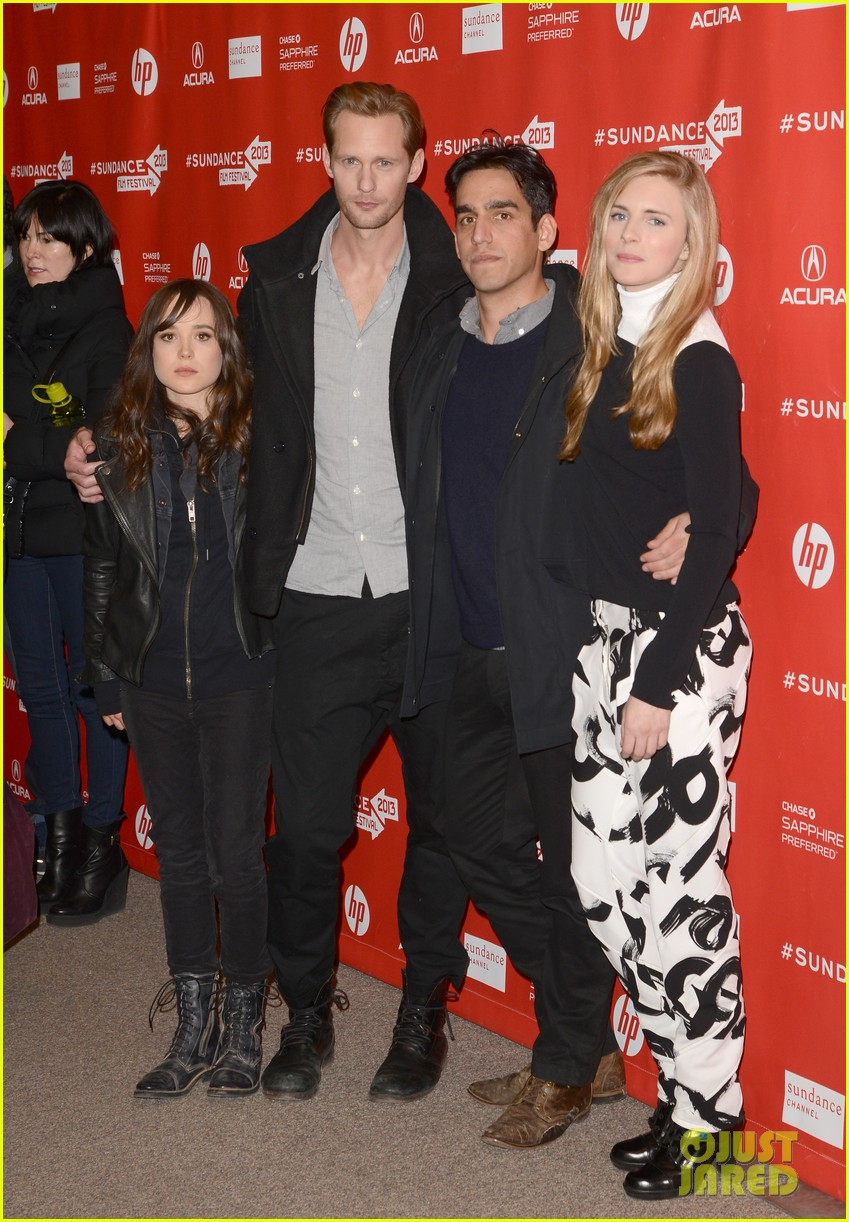 alexander skarsgard brit marling the east sundance premiere 05