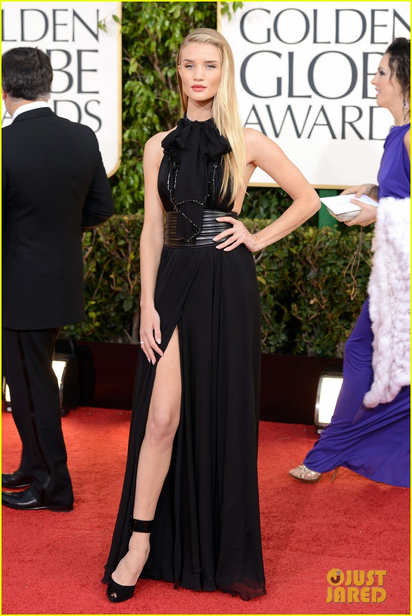 rosie huntington whiteley jason statham golden globes 2013 01