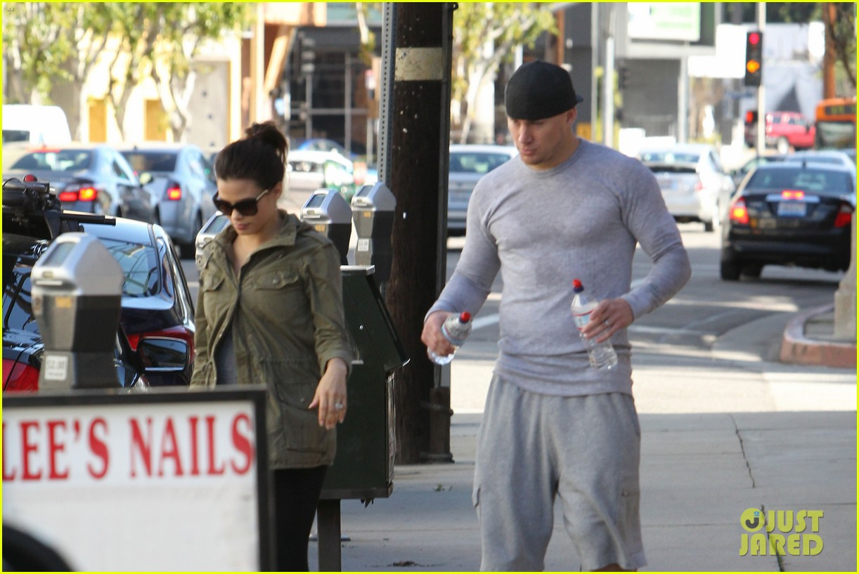 channing tatum jenna dewan workout couple 13